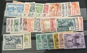 Portugal Sc# 315-345 Complete Set Mint Hinged (MH) 2019 CV $52.30