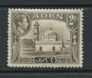 ADEN - Scott 20 - KGVI Definitive Issue - 1938 - MH - Single 2a Stamps
