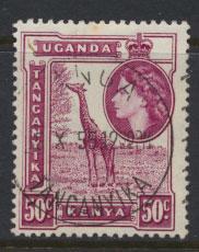 Kenya Uganda Tanganyika SG 173a Used