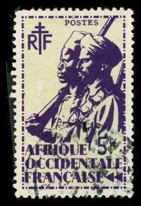 French West Africa 32 Used