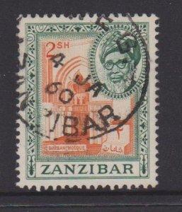 Zanzibar Sc#260 Used