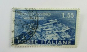 1951 Italy SC #580  MONTECASSINO Used stamp