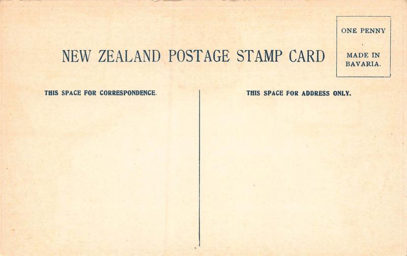 New Zealand, Stamp Postcard, Published by Ottmar Zieher, Circa 1905-10, Unused
