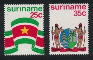 Suriname Independence 2v SG#814-815