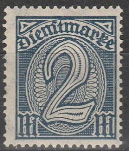 Germany #O15 F-VF Unused  (S6583)