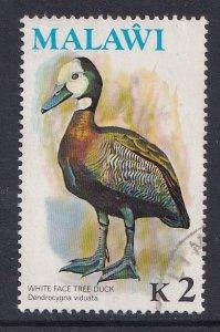 Malawi   #244  used  1975  birds  2k