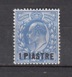 J26366  jlstamps 1911-2 great britain turkey mh #39 ovpt