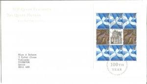 HM Queen Elizabeth the Queen Mother Royal Mail FDC 2000 Edinburgh Pmark Z9334