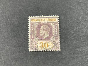 STRAITS SETTLEMENTS # 195a--USED----SINGLE----1921-32