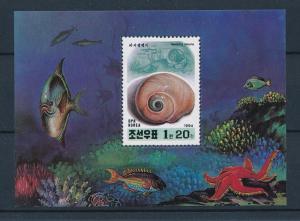 [47086] Korea 1994 Marine life Seashells MNH Sheet