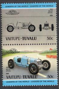 Tuvalu Vaitupu 13 Cars MNH VF