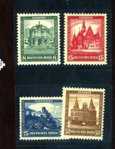 GERMANY #B38-41 MINT F-VF OG NH Cat $188