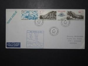France TAAF 1986 Mid-Winter Expedition Cover  - Z11097