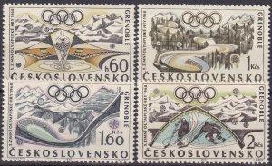 Czechoslovakia #1516-9 MNH CV $2.65 (Z5365)