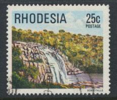 Rhodesia   SG 566 SC# 404  Used  Geba Waterfalls  see details