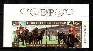 Gibraltar #734a  MNH  Scott $11.00   Pair