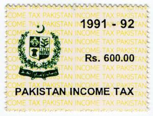 (I.B) Pakistan Revenue : Income Tax 600R