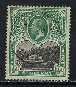 ST. HELENA 61 VFU X183