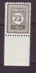J16794 JLstamps  israel revenue mnh tab bale 9