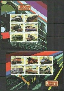 KS GAMBIA TRANSPORT TRAINS OF THE WORLD 2KB FIX