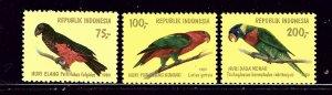 Indonesia 1104-06 MNH 1980 Birds