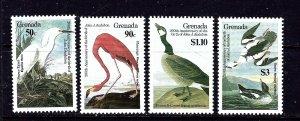 Grenada 1352-55 MNH 1986 Birds