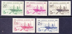 Algeria 126-30 Mint OG 1939 New York World's Fair Full Set Very Fine