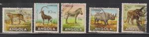 ANGOLA Used Animals On Stamps