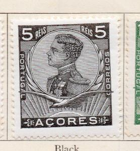 Azores 1910 Early Issue Fine Mint Hinged 5r. 151474
