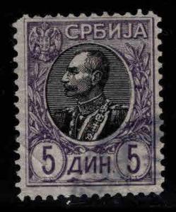 Serbia  Scott 97 Used