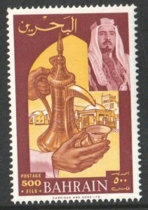 1966  BAHRAIN - S.G: 149 -  500F BROWN & YELLOW -UNMOUNTED MINT