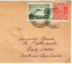AUSTRALIA Air Mail First Flight Cover *Camooweal* Daly Waters 1930{samwells}PA26