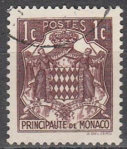 Monaco #145 F-VF Used   (S7784)