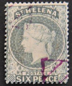 DYNAMITE Stamps: St. Helena Scott #7 – USED