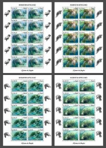 Z08 IMPERF ANG190210c Angola 2019 Manatee MNH ** Postfrisch