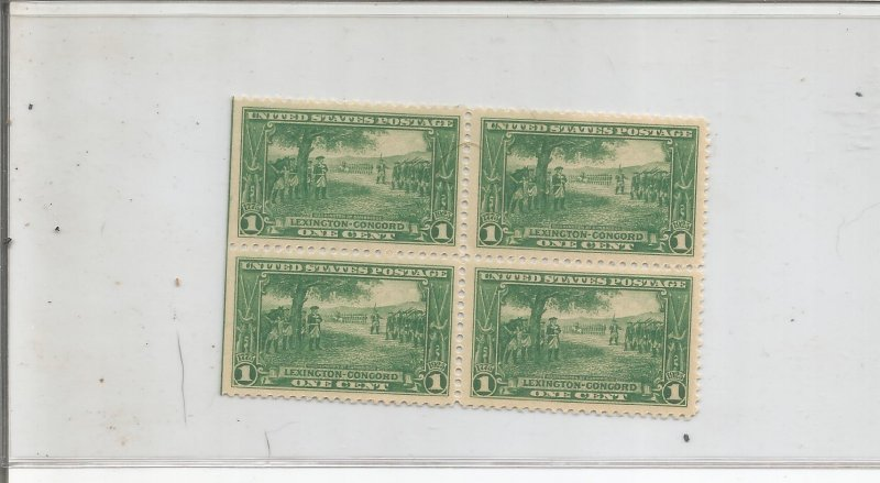 US SCOTT# 617,  BLOCK OF 4, MNH, OG