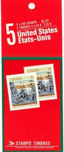 Canada - #BK108 - 1989 44c Christmas Complete Booklet