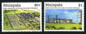 Malaysia 377-378,MNH.Michel 378-379. Sultan Ismail Power Station,1988.