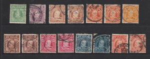 New Zealand an unsorted small lot of used Edwards