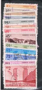Venezuela C613-20;C622-23;C625;C627-28 Used Buildings and Landscapes (V0178)