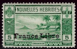 FR New Hebrides SC #67 Mint OG F-VF SCV$8.50...French Colonies are Hot!