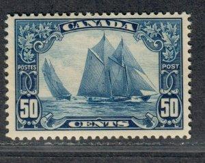 $Canada Sc#158 M/NH/F-VF, Bluenose Cv. $425