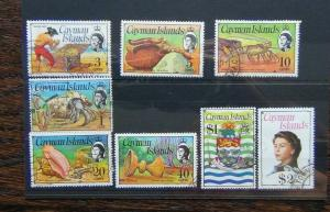 Cayman Islands 1974 values to $2 Used