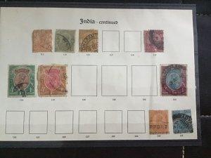 British India 1911-1913 stamps R29953