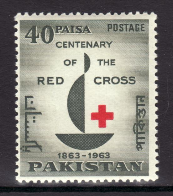 Pakistan 179 Red Cross MNH