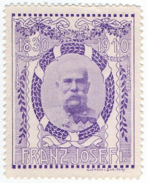 (I.B) Austria Cinderella : Franz Josef 80th Anniversary