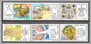Tunisia #600-605 Unesco Complete Set MNH