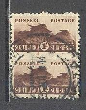SOUTH AFRICA Sc# 97 USED FVF Pair Tank Corps
