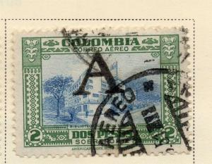 Colombia Air Post 1950 Early Issue Fine Used 2P. Optd 173205
