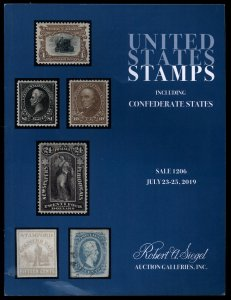 Auction Catalog: Siegel Sale 1206 - United States Stamps, July 23-25, 2019